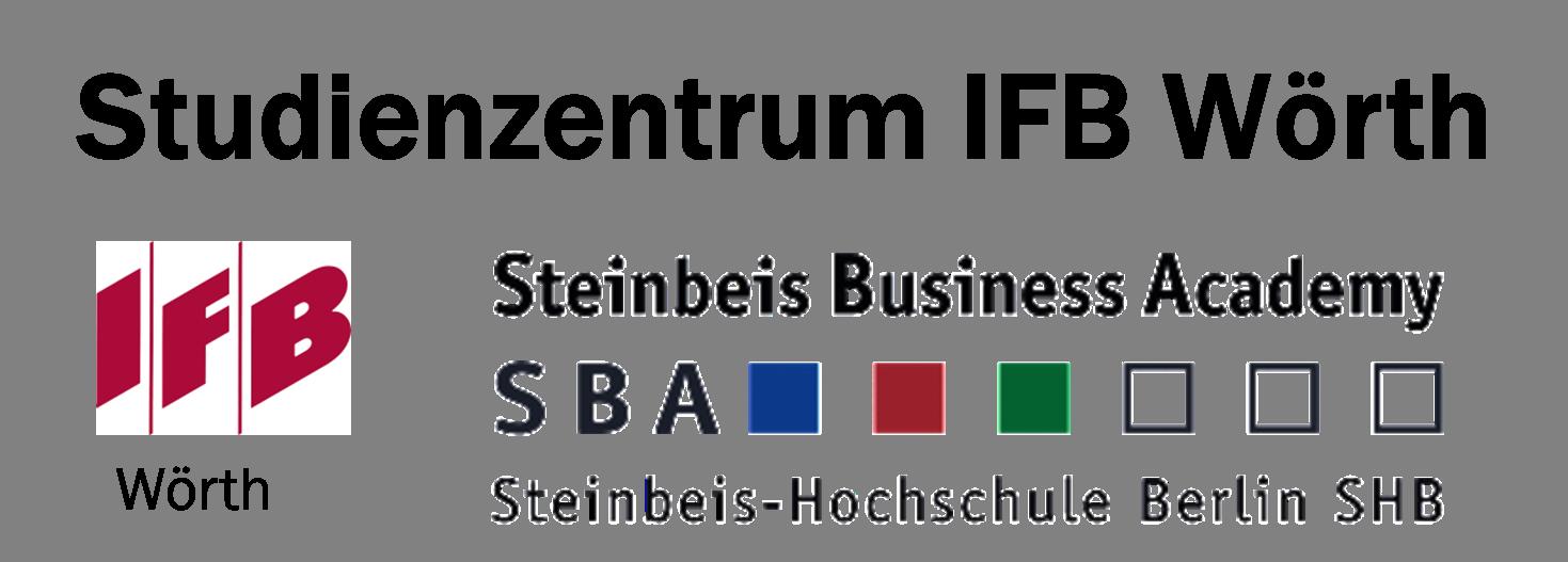Stud.zentr. Wörth, Logos IFB+SBA_sehr groß